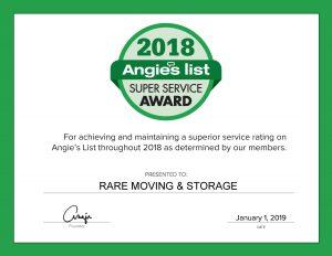 Angie's List award 2018